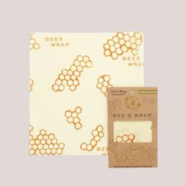 Herbruikbare bijenwasdoekjes medium
