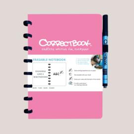 Correctbook A5 Original Roze