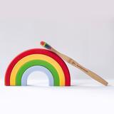 Bamboe tandenborstel - proud - kind/volwassenen