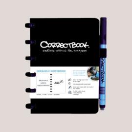 Correctbook A6 Original Zwart