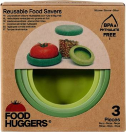 Foodhugger siliconen deksel set soft greens (3)