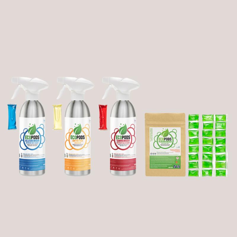 Ecopods  startpakket - aluminium -