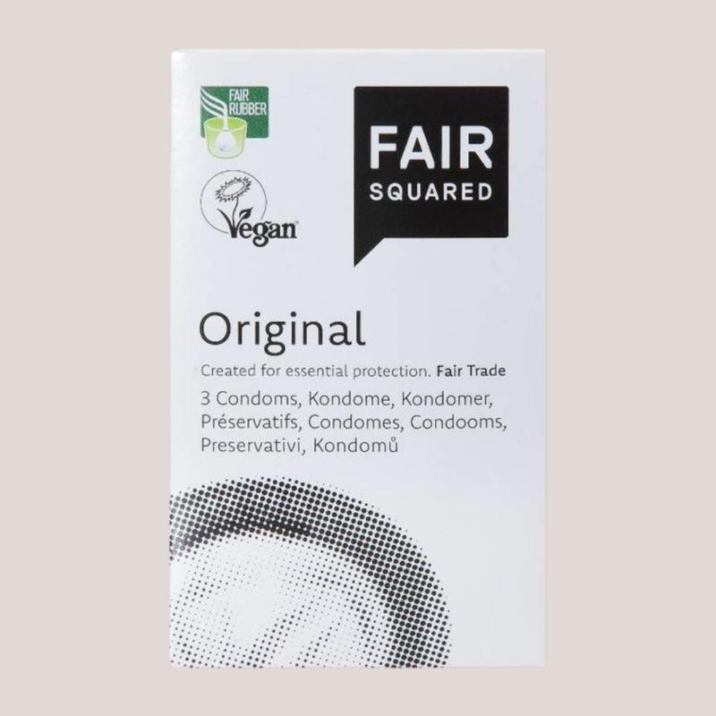 Vegan Fairtrade Condooms - 10 St.