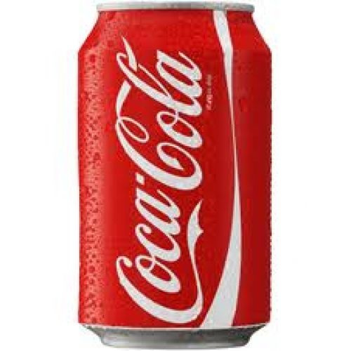 Coca cola blik 33cl