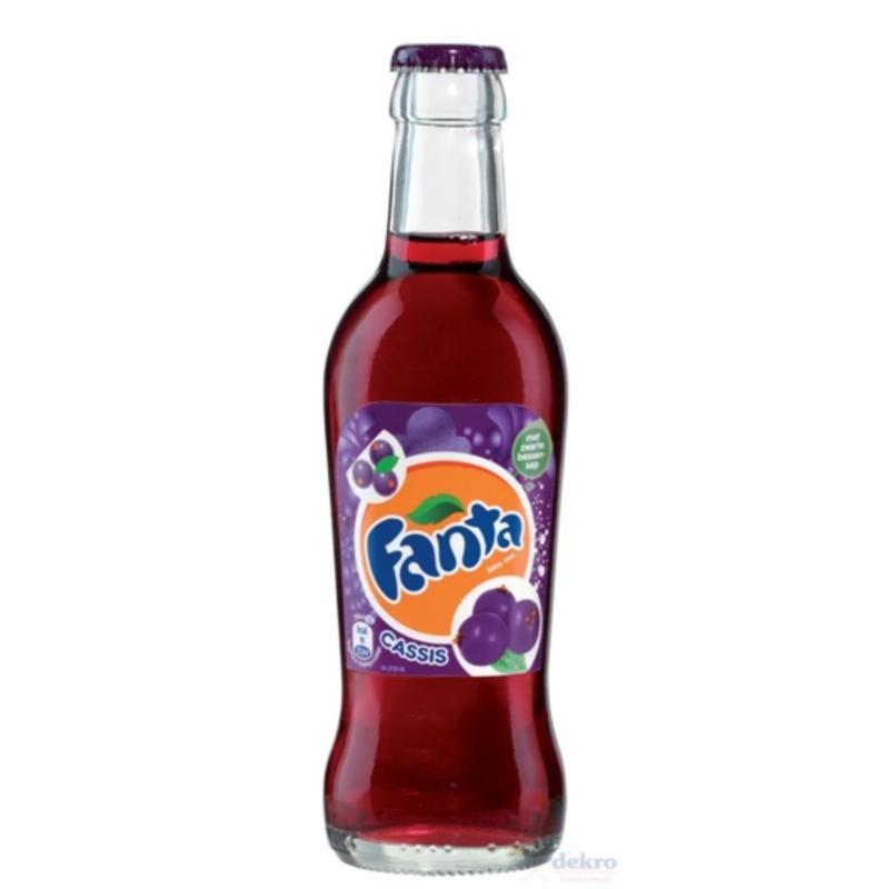 Fanta Cassis fles 33cl