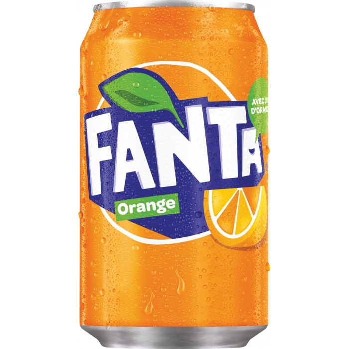 Fanta Orange blik 33cl
