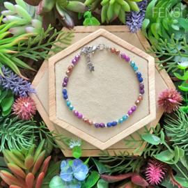 FENSI Good Vibes - armband - multicolor 20 cm