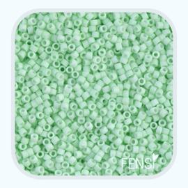 Delica 10/0 - Opaque Matte Mint