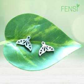 Kinderoorbellen - stainless steel oorstekers - vin