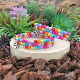 FENSI - Kinderarmband sparkle - regenboog - per stuk