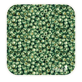 TOHO Rounds 2mm - TR-11-PF570 Galvanized Mint Green