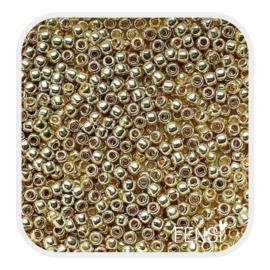 TOHO Rounds 2mm - TR-11-PF559 Galvanized Yellow Gold