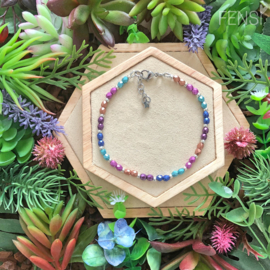 FENSI Good Vibes - armband - multicolor 21 cm