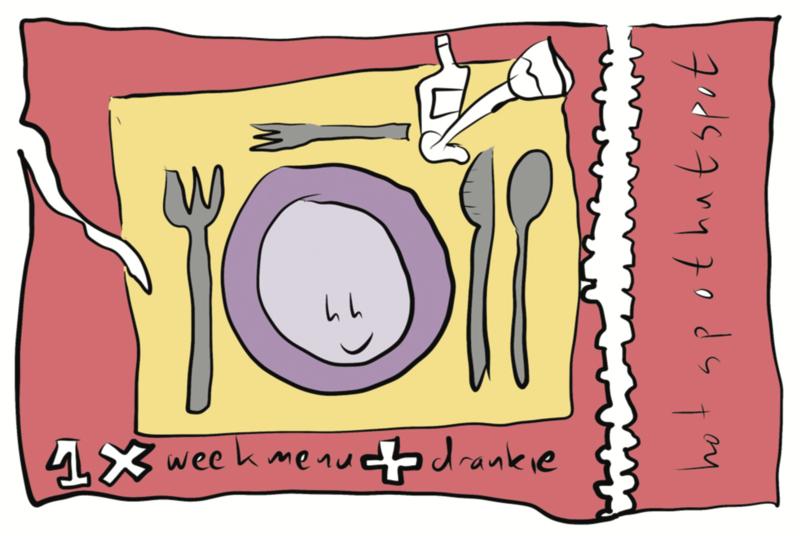 doneer een uitgesteld etentje