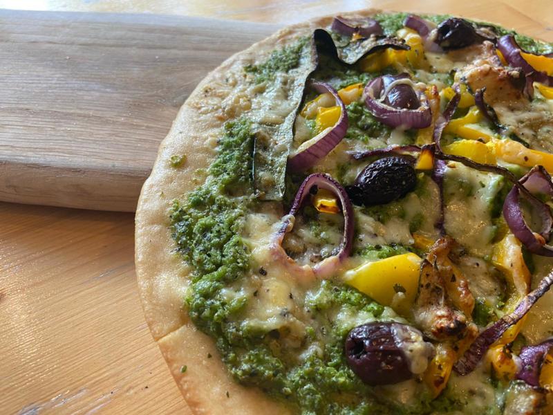 vegetarische pizza isis
