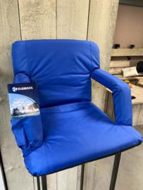 opklapbare comfort seat met leuning