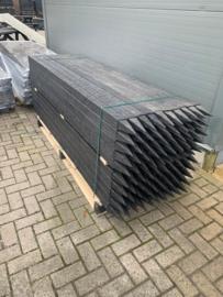 Kunststof paal 7x7 cm 220 cm lang met punt