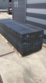 Kunststof balk 4x6 zwart