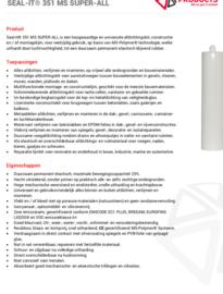 Kit polymeer 310 ml (1 tube nodig per 8m2 gemiddeld)