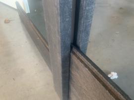 Kunststof aluminium damwand palen en balken