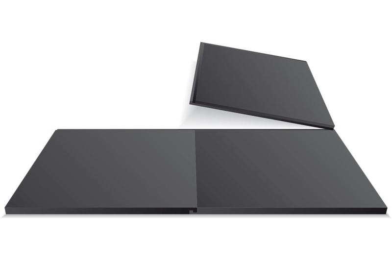 Pvc Vloertegels DHZ 50x50x1cm grijs per m2