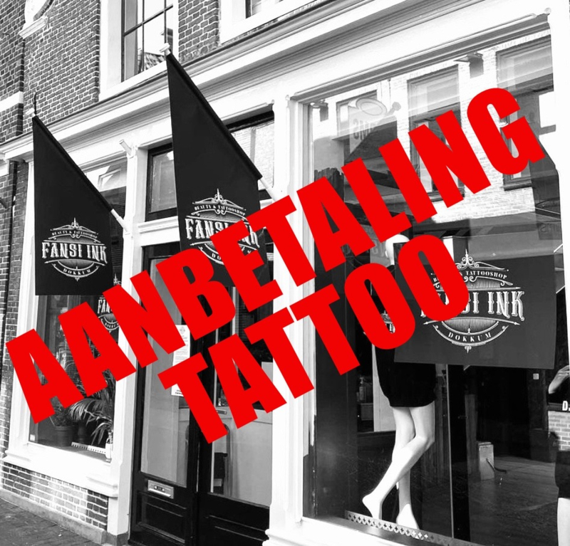 Aanbetaling Tattoo (per persoon)