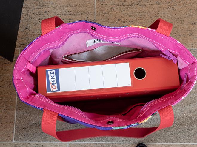 handgemaakte tas van paraplu