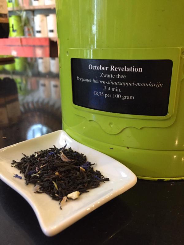 October revelation - earl grey - 100 gram