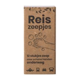 Happy Mini Reis- en Toiletzeepjes (12 stuks)