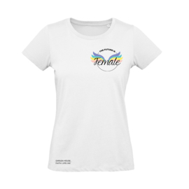 Dames t-shirt, The future is female
