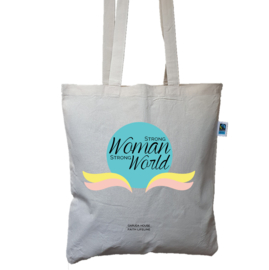 Totebag, Strong woman, strong world