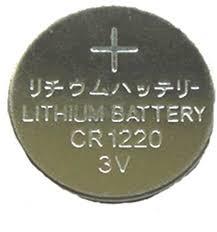 Batterij knoopcel CR1220