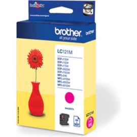 BROTHER LC121 Magenta origineel