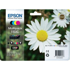 EPSON 18XL B/C/M/Y 4-pack origineel