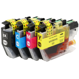 BROTHER LC3213 Black/Cyan/Magenta/Yellow Multipack huismerk