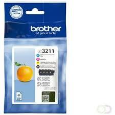 BROTHER LC3211 B/C/M/Y 4-pack origineel