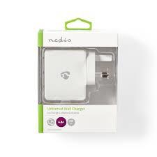 NEDIS Wall Charger 4.8A 2xUSB / 1x USB-C (USB-PD)