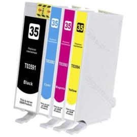 EPSON 35XL Black/Cyan/Magenta/Yellow Multipack huismerk