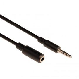Audio 3.5mm verlengkabel 1.0m
