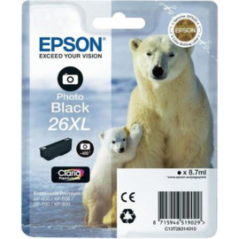 EPSON 26XL Photo Black origineel