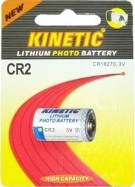 KINETIC Lithium foto batterij CR2 3V