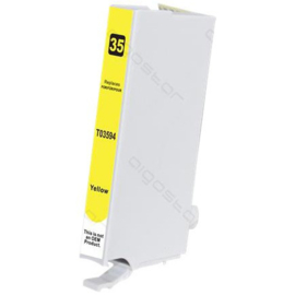 EPSON 35XL Yellow huismerk