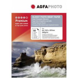 AGFA Glossy fotopapier A4 240gr 50 vel