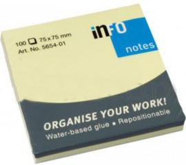 Sticky Notes 75 x 75mm pakje 100vel