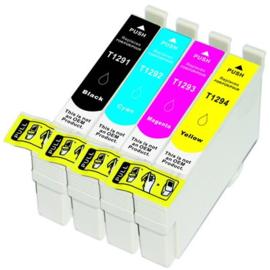 EPSON T1295 Black/Cyan/Magenta/Yellow Multipack huismerk
