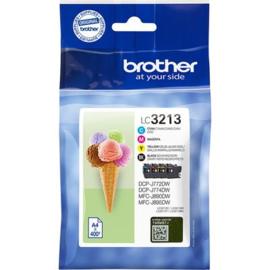 BROTHER LC3213 B/C/M/Y 4-pack origineel