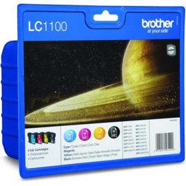 BROTHER LC1100 B/C/M/Y 4-pack origineel