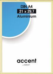 Aluminium fotolijstje goudkleur 21x29,7cm (A4)