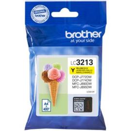 BROTHER LC3213 Yellow origineel