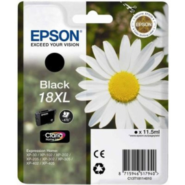 EPSON 18XL Black origineel